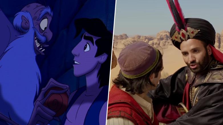 Aladdin differenze tra cartone animato e film live action cinefily