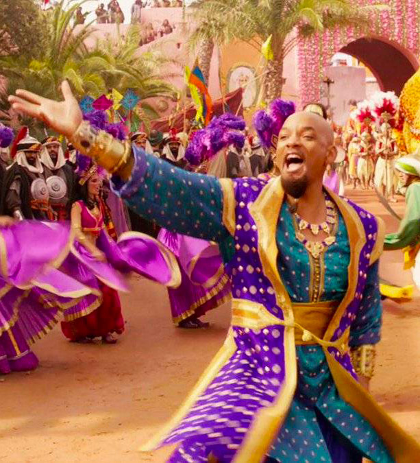 genio Aladdin will smith Disney