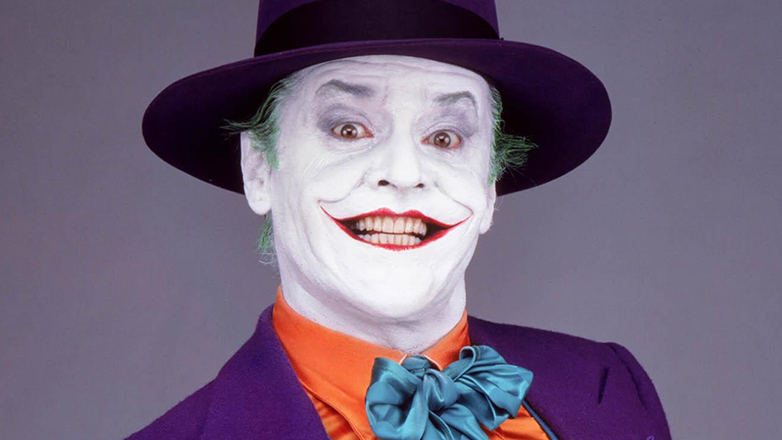 Jack Nicholson in Batman di Tim Burton