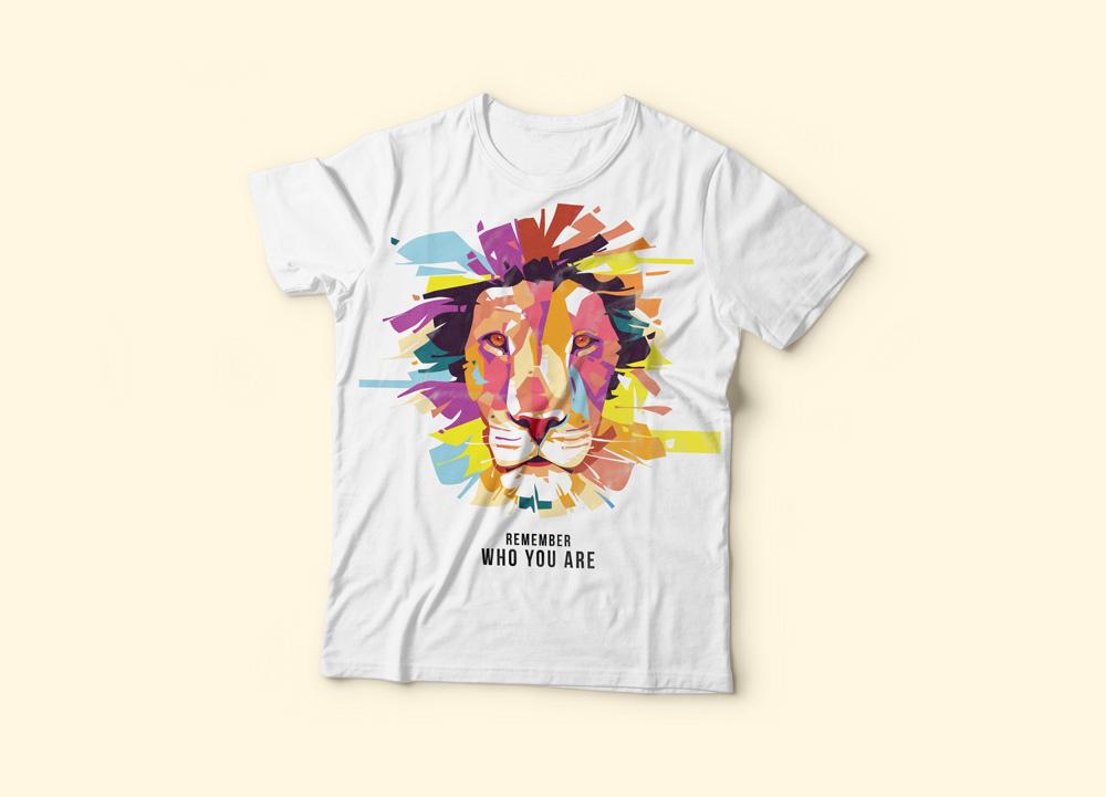 T-Shirt re leone