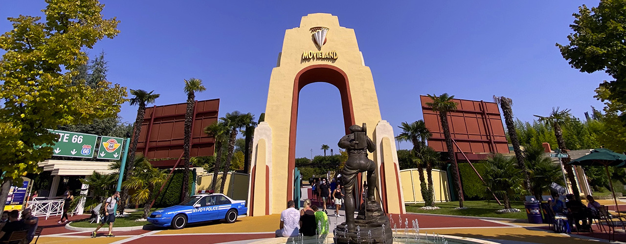 Una giornata a Movieland, The Hollywood Park